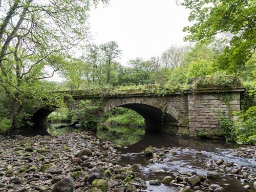 twin arch bridge north yorkshire